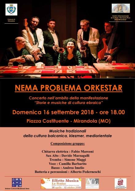 2018 09 16 nema problema orkestar