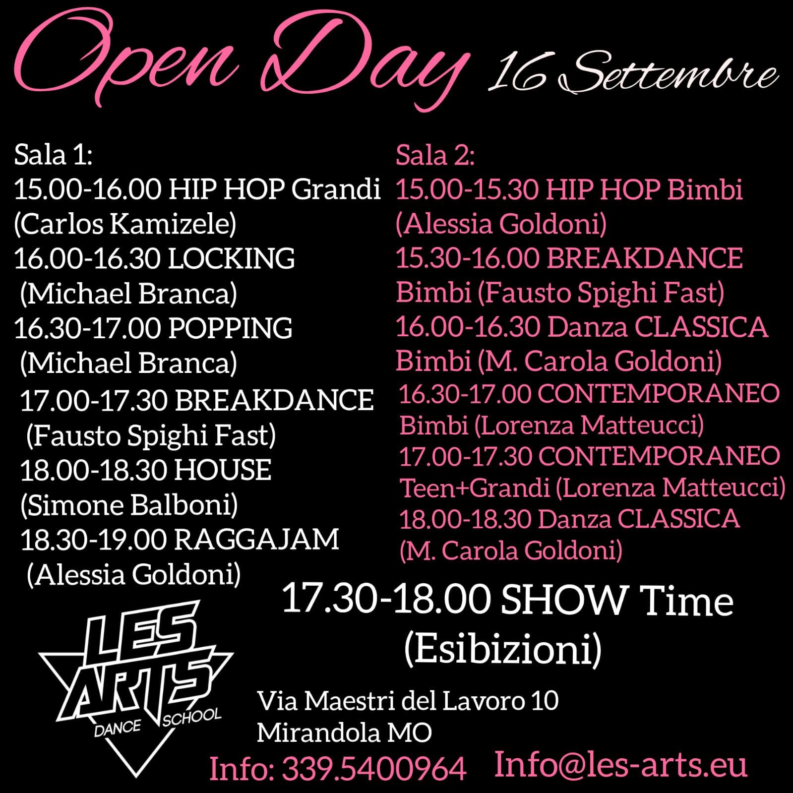 2018 09 16 open day les art