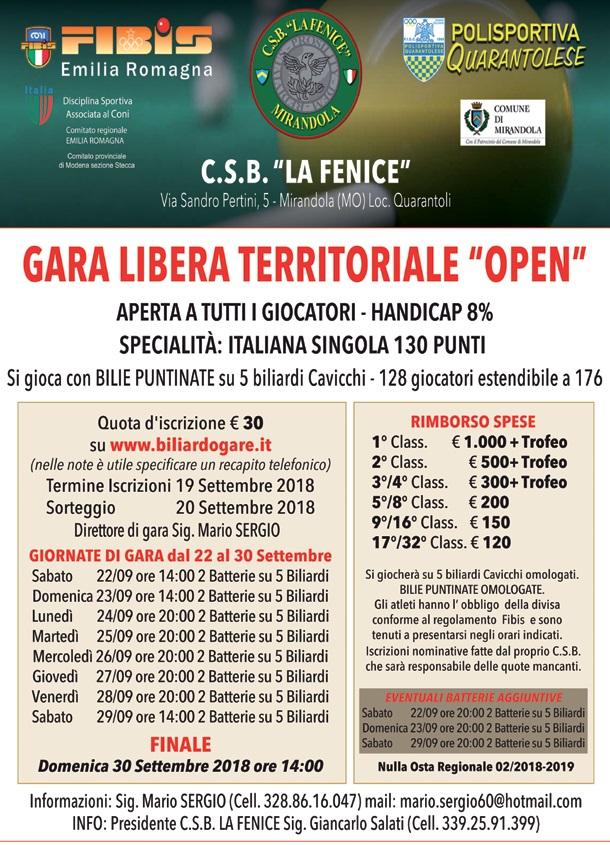 2018 09 22-29 gara bigliardo