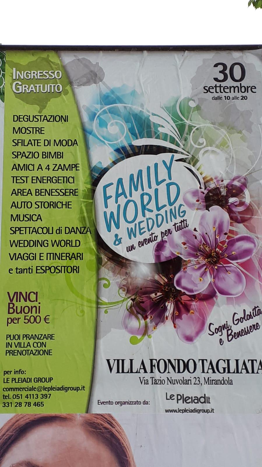 family world & wedding